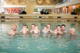 Babyschwimmen in Achim